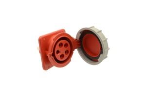 GSV - CEE INBOUWDOOS (SCHUIN) - 16 AMP - 4 POLES - 415 V - IP67