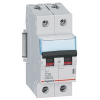 Legrand - Aut. TX³ 3000A 2P C20 230/400V - 2 modules