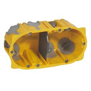 Legrand - Ecobatibox 2 postes prof 50mm diam. 67/68mm