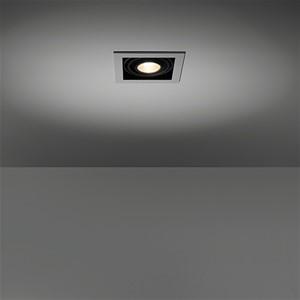 MODULAR - MINI MULTIPLE FOR 1X LED GE WHITE STRUC