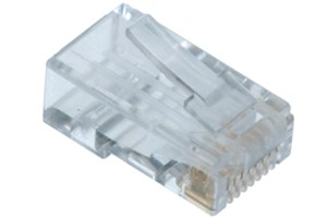 Elimex - PR88RZ50V2C61L Modular phone plug with guide CAT6