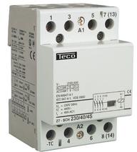 TECO - CONTACTOR F&G 230VAC 40A 4NO