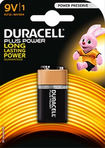 DURACELL - Duracell Plus Power 9V (6LF22)