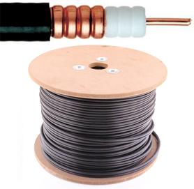 Coax kabel - 75 Ohm - Electrabel - per meter of op rol - 7168