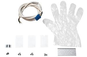 SG LIGHTING - Lineal surface startkit eindbeugel incl. kabel en bevestiging wit