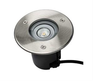 UNI-BRIGHT - GRONDSPOT ROND LED 230V IP68 5W ALU BODY - INOX COVER