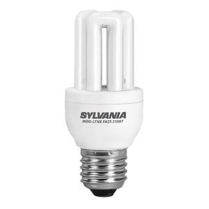 SYLVANIA - MINI-LYNX FAST-START 450LM 8W 840 E27 SLV