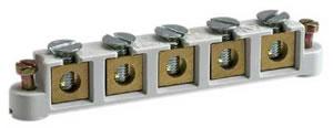 ABB Vynckier - Klemmensteun met 5 schroefklemmen 6mm2