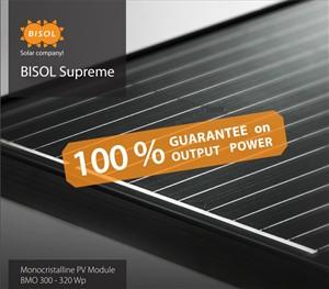 BISOL - Bisol Premium paneel 320W, Mono, Full Black SUPREME