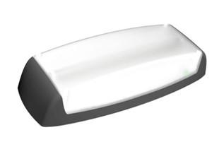 LINERGY - FORZA IP65 LED 12W 'AUT' NP-P 300LM IK10 GRIS SECOURS