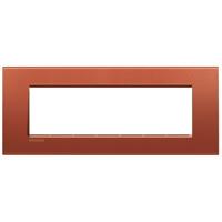 Bticino - LL-Plaque rectangul. 7 mod brique