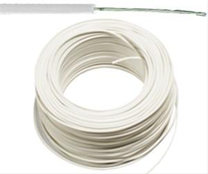 VTBst kabel / draad 0,75 mm² - wit (H05V-K) - VTBST075WI