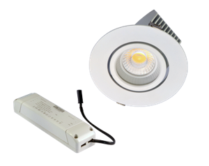 TECO - Teco LED Uittr. Downlight FOGO 0-10V 6'' 29W 38° 4000K Ra90