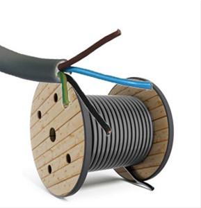 XVB-f2 4G1,5 kabel - per meter of op rol - XVB4G15