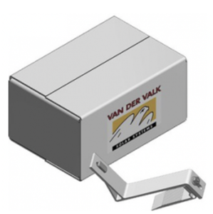 VAN DER VALK - ValkBox Slimline 8 - doos met kleine materialen voor schuin dak 8 panelen portrait