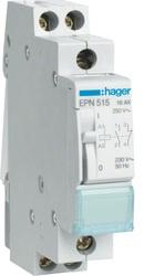 HAGER - Afstandschakelaar 16A 230V 1NO+1NG