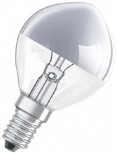 LEDVANCE - LAMP KOPSPIEGEL ZILVER 40W E1445 X 80 MM KOPSPIEGEL