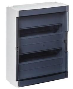 ABB Vynckier - Fix-O-Rail 150 2 rijen 36mod. doorzichtige deur