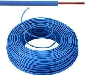 VOB kabel / draad 2,5 mm² Eca - blauw ( H07V-U ) - VOB2BL