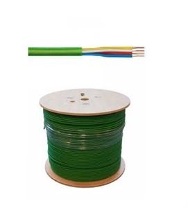 EIB/KNX Buskabel 2 x 2 x 0,8 mm² Groene buitenmantel ( B500 )