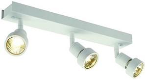 SLV LIGHTING - Puri 3, wand/plafondlamp, GU10 3x50W 230V, wit