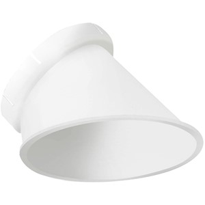 LEDS C4 - DIEPLIGGENDE REFLECTOR WALLWASHER WIT