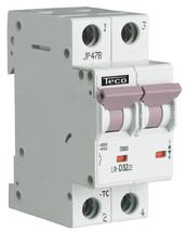 TECO - Automaat TC 2P 16A 4,5kA Curve C