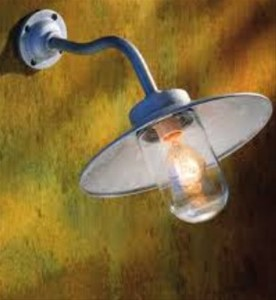 NAUTIC - QUAY LIGHT 45° GEGALVANISEERD
