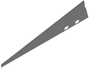 VAN DER VALK - Verz zij paneel rechts ValkPro+ P10°
