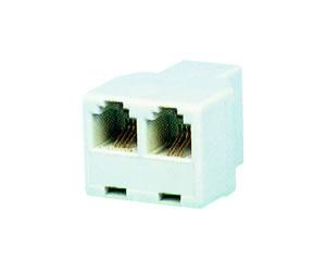 Elimex - A-330/64 Modular triplex adaptor 2 x 6/4
