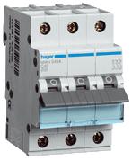 HAGER - Automaat 3kA - C - 3P - 20A - 3M