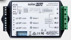 SolarEdge - 3PH split or delta grid 230v L-L MB Meter Din-rail