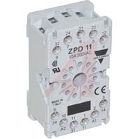CARLO GAVAZZI - UNDECAL SOCKET FOR DIN RAIL MOUNTING IP20