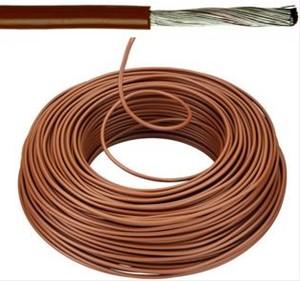 VOBst draad 10 mm² Eca - bruin (H07V-K) - VOBST10BR