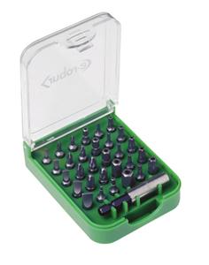 E-ROBUR - Kofffer met bits - set van 31