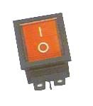 Elimex - KF-DS-1 Switch + lamp bipolar