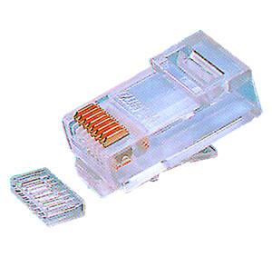 Elimex - MP-88GV Mod. phone plug RJ45 with guide