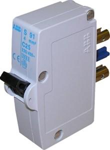 ABB - Disjoncteur à broche, S91, 1P, courbe C, 20A