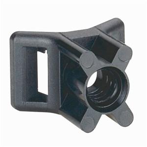 Legrand - Voetstukje schroefbevestiging zwart - Colson kabelb. br 9 mm