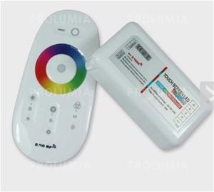 PROLUMIA - RGBW CONTROLLER DRAADLOOS MET KLEURWIEL, DC12V/24V 6A PER