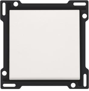Set de finition pour interrupteur ou bouton-poussoir simple, white