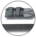 ELEMATIC - COLLIER NOIR 9 X 360 6455