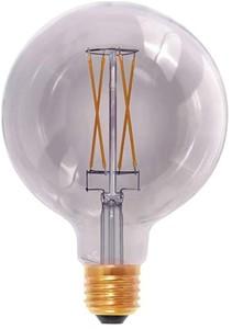 Segula - LED Smokey Grey Globe 125 6W CRI+90 2000K 250LM