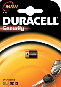 DURACELL - Duracell Security 6V (MN11)