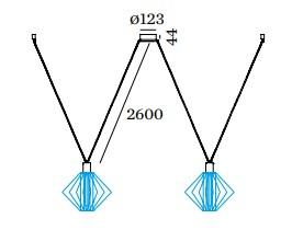 Wever & Ducré - Wiro Decenter 2.0 (Cable Length 2.6 M)