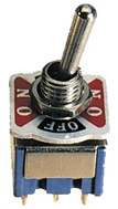 Elimex - 5-476 Mini toggle switch DPDT(6P) ON/OFF/ON