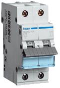 HAGER - Automaat 3kA - C - 2P - 20A - 2M