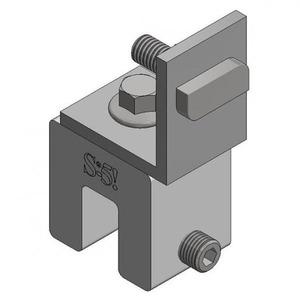 VAN DER VALK - Alu standing seam clamp straight
