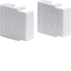 HAGER - Eindkap voor 2- en 3-p doorverbindingsrail (KDN-serie; 10 en 16 mm²)
