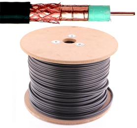 Coax PE11 kabel - Telenet / Interelectra - 75 Ohm - per meter of op rol - 707CRT2